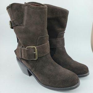 DV Dolce Vita Brown Suede Boots 6 1/2